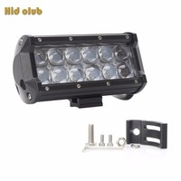 HID CLUB 4D 60W 6500K Super Bright LED Work Light Bar For Work Indicators Driving Offroad
