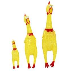 30cm 17cm 41cm gritando frango squeeze som brinquedo animais de estimação produto brinquedos do cão ferramenta de descompressão shrilling gadgets engraçados