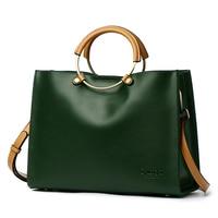 BVLRIGA 2019 Women Handbags Women Designer Bags Handbags Famous Brands Ring Women Genuine Leather Handbags High Quality Bags New