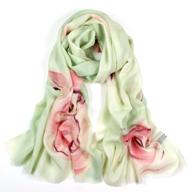 Scarves women high fashion 2016,rose flower scarf,floral hijab,wool scarf,pashmina cashmere,shawls and scarves,ponchos and capes