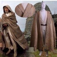 Cosplay Star Wars The Last Jedi Luke Skywalker Costume Star Wars Costume Jedi Costume Halloween Full Set Cos