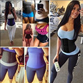 Feelingirl Waist Trainer 100% Latex Waist Cincher Corset Minceur Slimming Body Shaper 9 Steel Bone XXS Waist Corsets