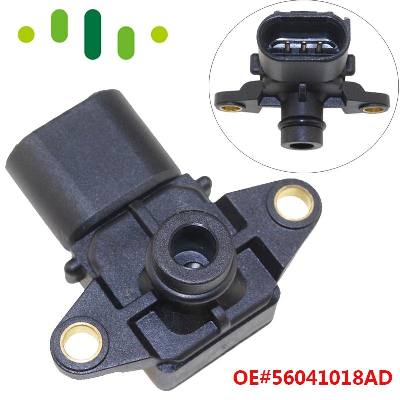 56041018AD Manifold Boost Pressure MAP Sensor For Jeep Wrangler Chrysler 200 300 Aspen Sebring 4.0L 3.3L 3.5L 2.7L 4.7L 6.1L56041018AD Manifold Boost Pressure MAP Sensor For Jeep Wrangler Chrysler 200 300 Aspen Sebring 4.0L 3.3L 3.5L 2.7L 4.7L 6.1L