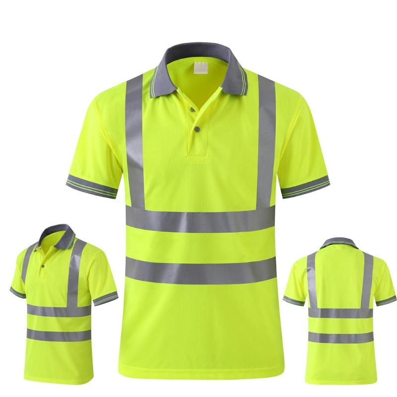 Hi visibility Safety clothing reflective t-shirt ботильоны pampa hi t wp