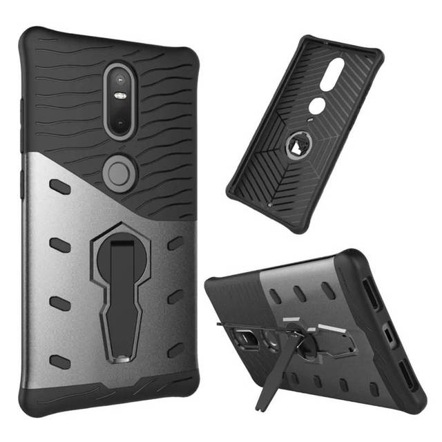 sports shoes 0bc32 fc8d4 US $3.65 21% OFF|Lenovo Phab 2 Plus Case 6.4 inch Hybrid Silicone +TPU Back  Cover Case For Lenovo Phab 2 Plus Cover Phone Protective Case Bag-in ...