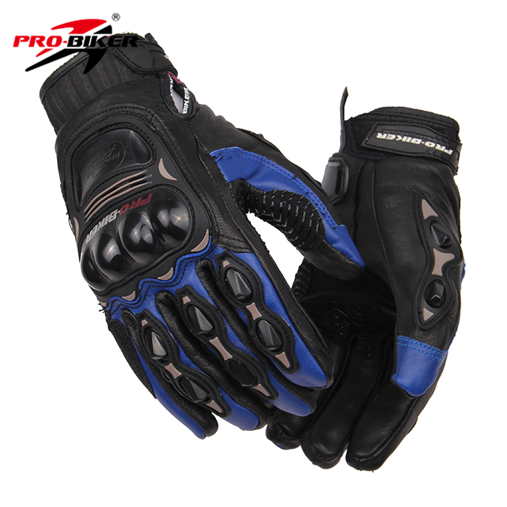 Womens leather motorcycle riding gloves - Pro Biker Wearable Motorcycle Gloves Leather Men Women Motocross Racing Gloves Riding Luvas Motociclista Gants