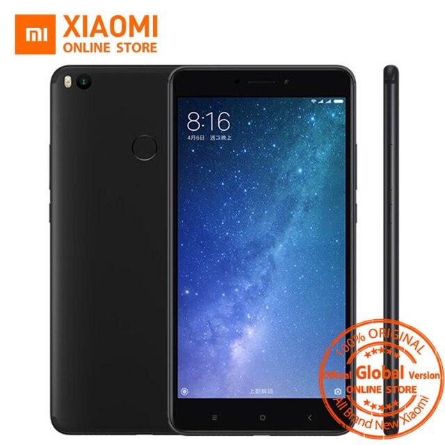 """Глобальная версия Сяо Mi Max 2 max с мобильного телефона 4 ГБ Оперативная память 64 ГБ Встроенная память 5300 мАч 6.44 """"Snapdragon 625 Octa core QC 3.0 Andriod 7.1"""