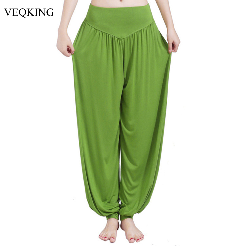VEQKING Plus Size 3XL Women Bloomers Yoga Pants Colorful