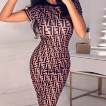 80f99f4c18d335 Hirigin 2019 najnowszy lato sukienka UK damskie z krótkim rękawem Bodycon  Midi sukienka damska lato klub sukienka rozmiar 6-16