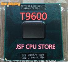 Мобильный процессор Intel Core 2 Duo T9600, 2,80 ГГц, 6 Мб, Кэш-память L2, 1066 МГц, процессор (100% рабочий, бесплатная доставка)