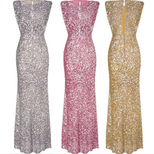 Sequined Shine Long Dress Cocktail Party Dress Női ruhák Nyári Mujer Plus Size Bodycon Vestidos de fiesta ruha femme QQ46