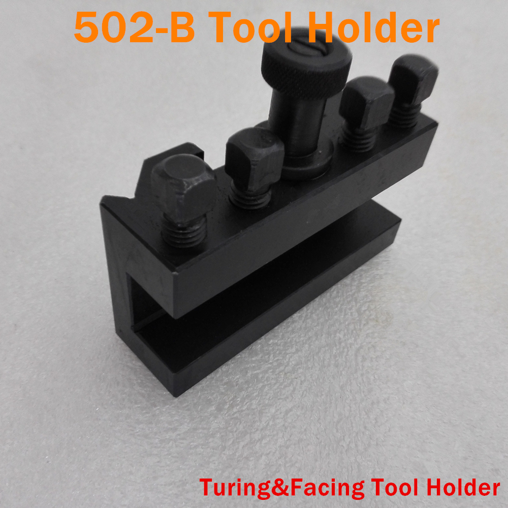 502 B Italian Style Quick Change Tool QCT holder Turing and Facing Tool Holder for Lathe