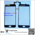 Original white touch screen digiziter with front glass len For meizu meilan meilan 5 free fast shipping,Test ok