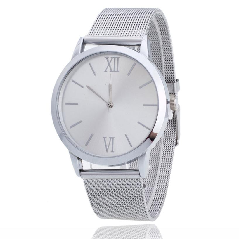 High Quality Women's Watch Women Ladies Silver Gold Stainless Steel Mesh Band Wrist Watch Top Gifts Dropshipping M10  high quality women s watch women ladies silver stainless steel mesh band wrist watch top gifts dropshipping m18