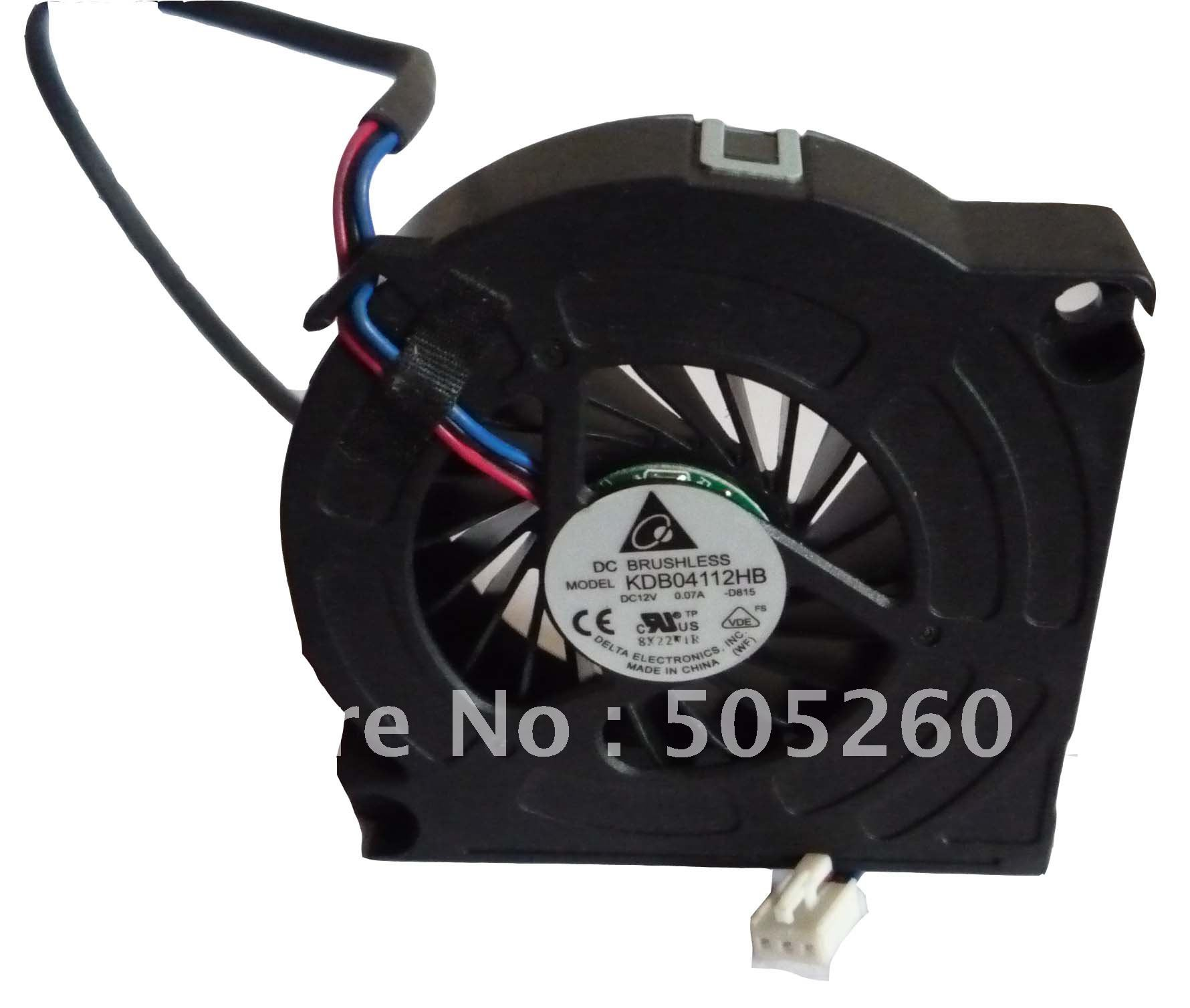 DELTA 6015 12V 0.07A KDB04112HB 6CM Mute blower Projector cooler cooling fan FOR TV SAMSUNG LE40A856S1 LE52A856S1MXXC aluminum alloy mute cooling fan black orange