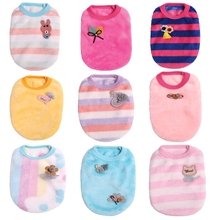 Kawaii Pet Clothes For Puppy Winter Clothing Small Dogs Cat Chihuahua Soft Warm Vest Costume Product