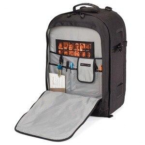 Image 3 - حقيبة ظهر Lowepro Pro run450 AW حقيبة كاميرا تصوير مستوحاة من المناطق الحضرية حقيبة ظهر رقمية للحاسوب المحمول SLR 17 بوصة مزودة بغطاء مطر