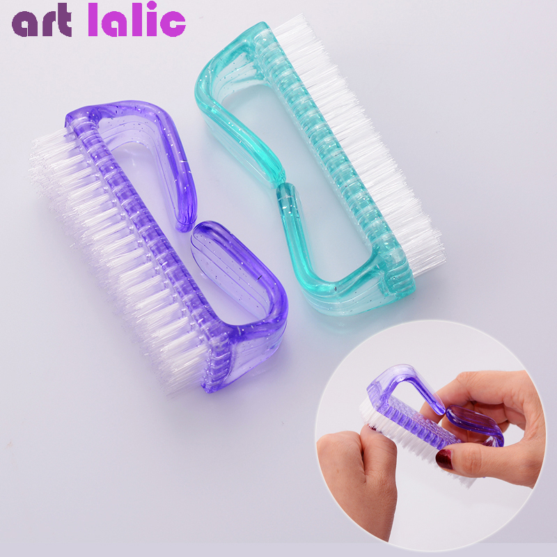 1Pc Large Nail Art Brush For Manicure Pedicure Soft Remove Dust Tips Toes Accesories Tools Nail Cleaning Tool Hot Sales