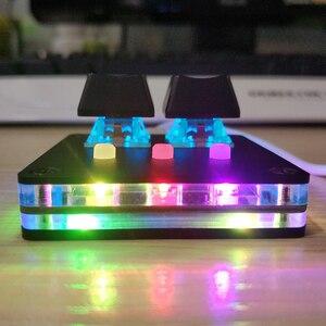 Image 3 - Clavier mécanique rétro éclairé Cherry USB 2.0 avec logiciel, bricolage OSU! Clavier de jeu pour Windows 5 touches, clavier V4