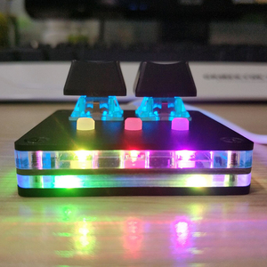 Image 3 - DIY  USB 2.0 Backlit Cherry Mechanical Keyboard With Software Black OSU! Keyboard V4 For Windows 5 Key Gaming Keyboard