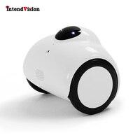 Intendvision 720 p Mini Câmera IP Robô Robô Tanque de Controle Remoto Sem Fio Por Telefone Família Acompanhar Home Security Webcam IDR01|Câmeras de vigilância| |  -