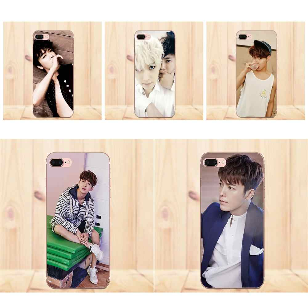 2019 Super Junior Donghae Ryeowook For Xiaomi Note 3 4 Mi3 Mi4 Mi4C Mi4i  Mi5 Mi 5S 5X 6 6X 8 SE A1 Max Mix 2 Soft Cases Cover