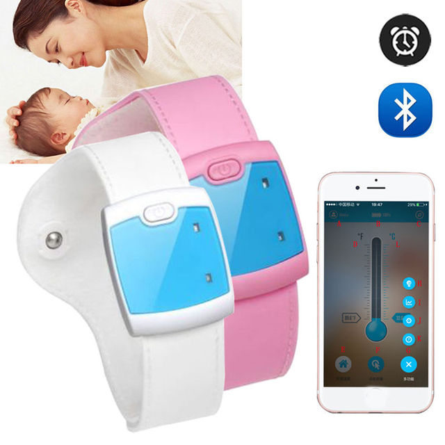 Free shipping Termometro Baby Electronic Wearable  Infrared Digital Termometro Real time Multifunction Non-toxic Monitor