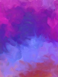 Image 4 - Dreamlike Purple Blue Photography Backdrop Art Smoke Background Kids Photo Studio 5x7ft Photography Background Wall