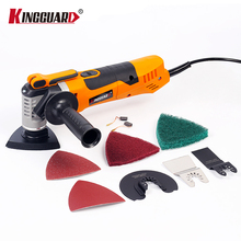 KINGGUARD Multi-Function Oscillating Trimmer Home Renovation Tool Trimmer woodworking Electric Saw Renovator Tools