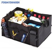 Авто Вернуться задний багажник сиденье большая сумка для хранения карман-органайзер для SsangYong Actyon Turismo Rodius Rexton Korando для KIA рио