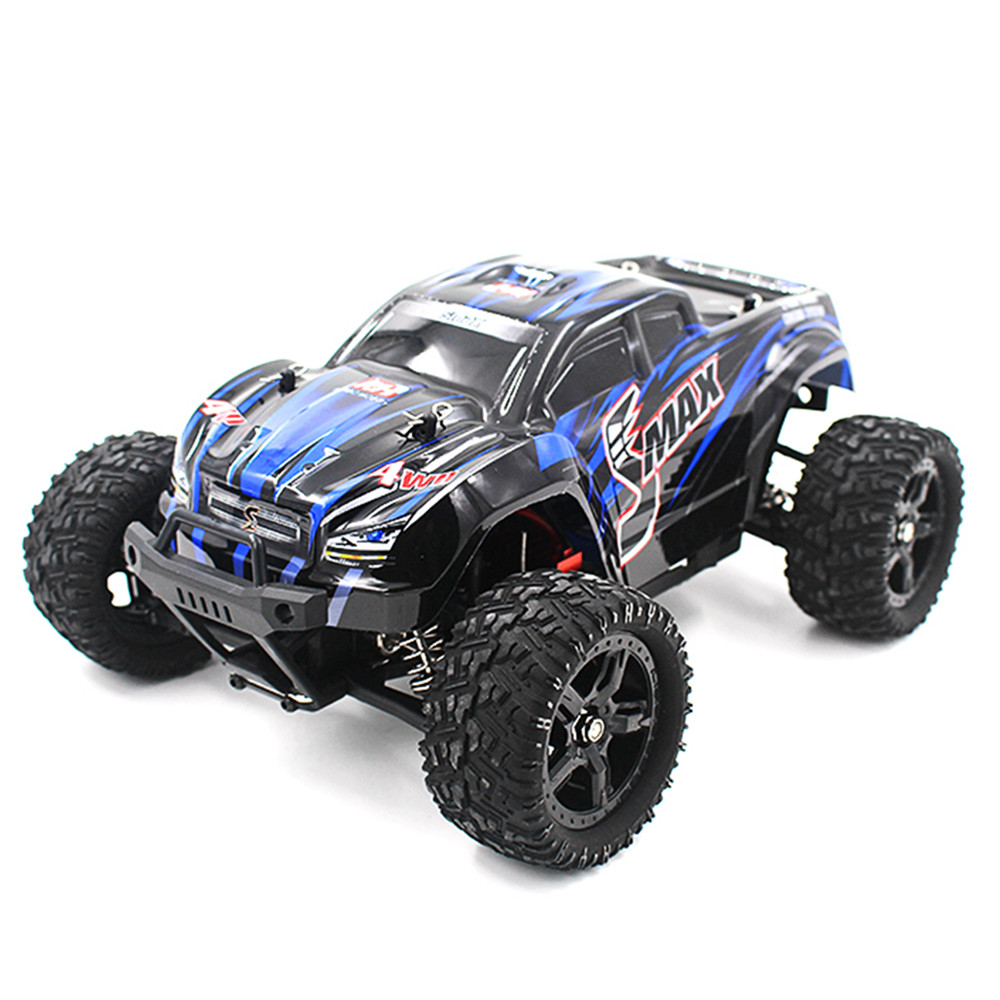 REMO 1631 1/16 Remote Control Monster Truck Toy 4WD Brushed Smax 4wd RC Car 2.4G Off-Road ESC RTR RC Remote Control Toys For Boy 1 28 rc car wltoys p929 2 4g 4ch off road remote control monster truck rc vehicles 30km h rtr electric 4wd brushed toys