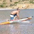 330*81*15 cm opblaasbare surfplank stand up paddle board AQUA MARINA MAGMA pedaal controle sup board tas leash paddle A01005
