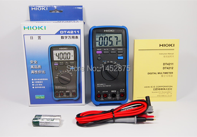 US $96 0 |HIOKI DT4211 DIGITAL MULTIMETER DT4211 Accuracy !!Brand New!! DT  4211-in Instrument Parts & Accessories from Tools on Aliexpress com |