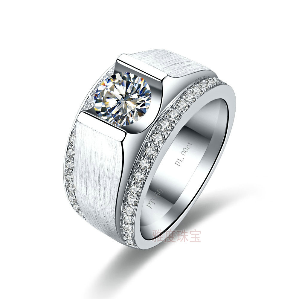 wedding fascinating jewellery cut round flush diamond nl square wg jewelry with solitaire in set rings ring white gold mens bezel tapered