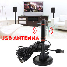 Portable 1080P HD Digital Indoor TV Antenna For DVB-T CMMB DTMB TV HDTV Digital Wireless Television Antennas With USB TV Tuner
