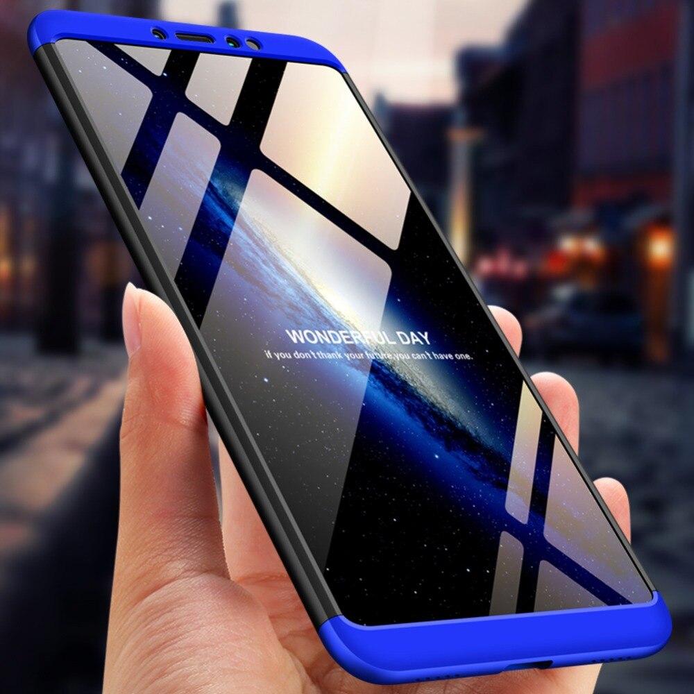 Mi Max 3 étui 360 antichoc complet antichocs étui de protection en plastique dur pour Xiao mi mi Max 3 Max3 Version mondiale 6.9 pouces