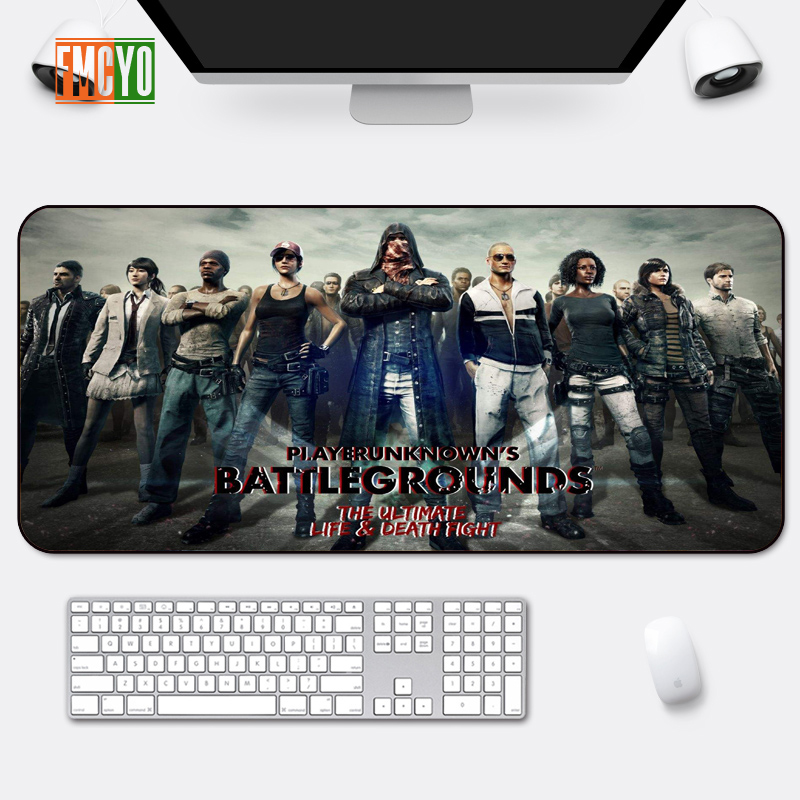 Hot Selling Game Oversized Mouse Mat Locking Anime Eating Chicken CF Athletic Thickening Table Mat Cute Office Anime Keyboard Ma-in Mouse Pads from Computer & Office