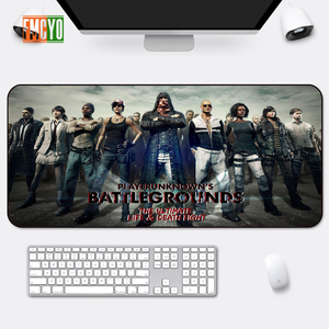 Image 1 - Hot Selling Game Oversized Mouse Mat Locking Anime Eating Chicken CF Athletic Thickening Table Mat Cute Office Anime Keyboard Ma