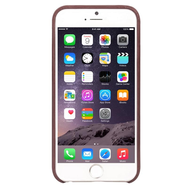 QIALINO äkta läderfodral för iPhone 6 & 6s Fashion Insert Card - Reservdelar och tillbehör för mobiltelefoner - Foto 6