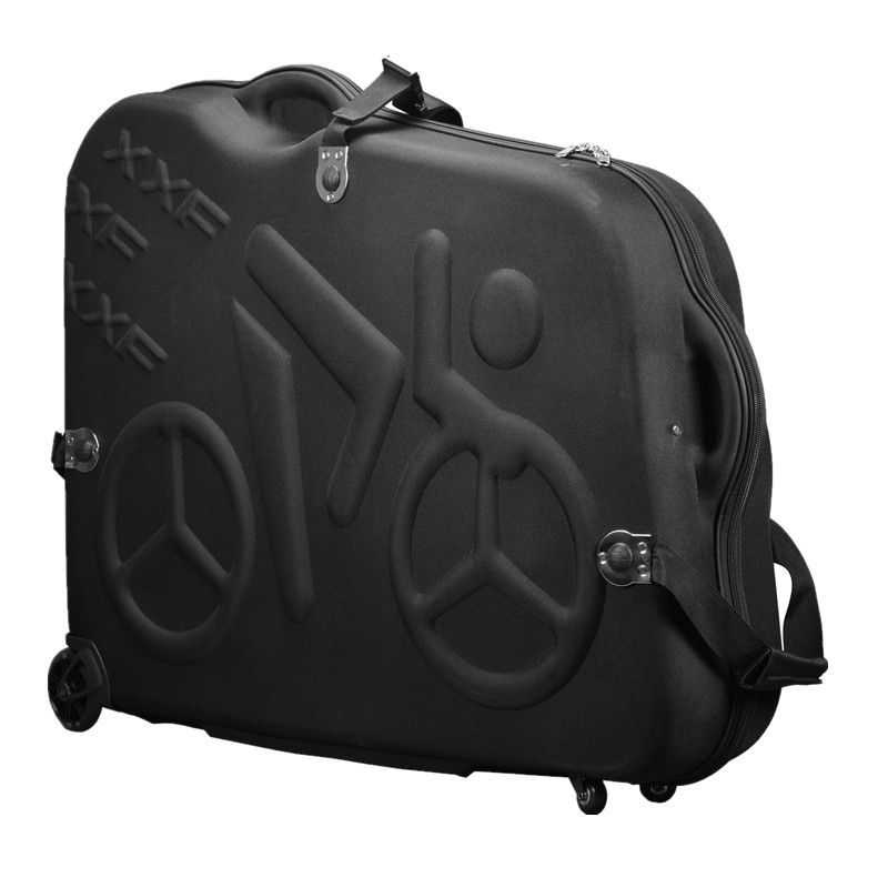 Bike Travel Case Accesorios Bicicleta Eva Material Rainproof Bikes Hard Box bike bag For 26 27