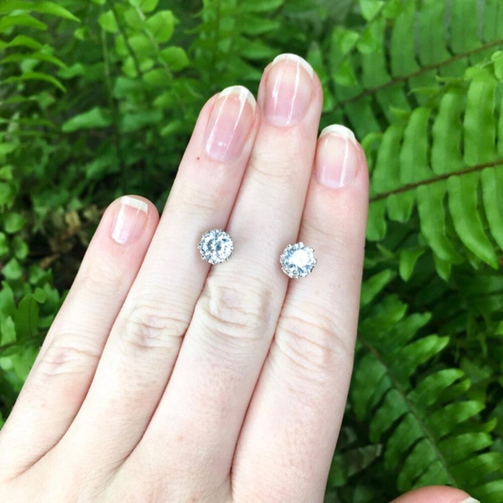 SE10817 925 sterling silver women. stud earrings (6)