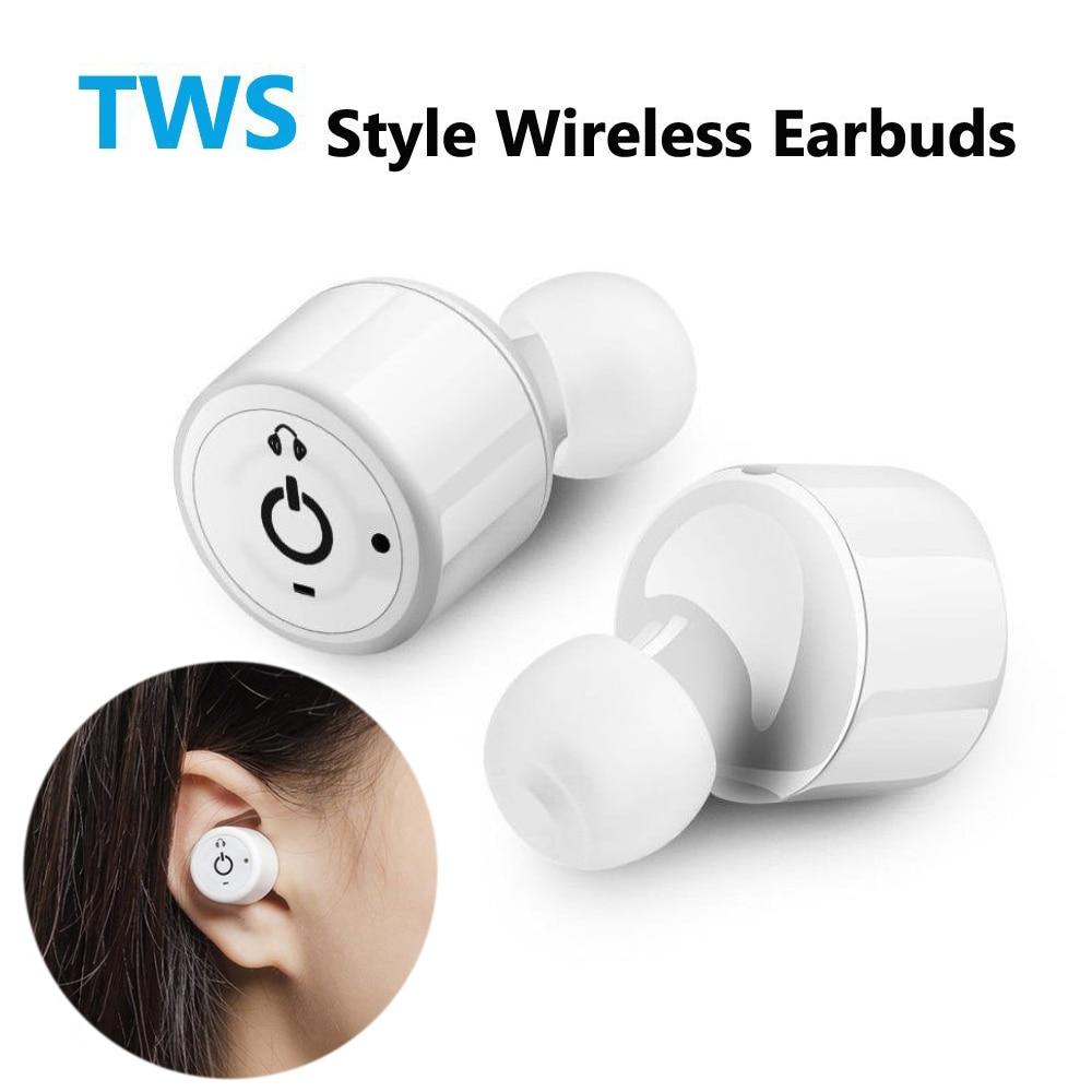 Twins True Wireless Earbuds Bluetooth Earphone X1T Mini Cordless Bluetooth CSR 4.2 Micro Earpiece for phone Fone de ouvi