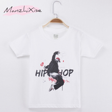 2019 New Arrival Children T-shirt Hiphop 3D Top Cotton Short Child Shirt Kids T Shirts For Girl And Boy Baby Clothes Teens Tee цены