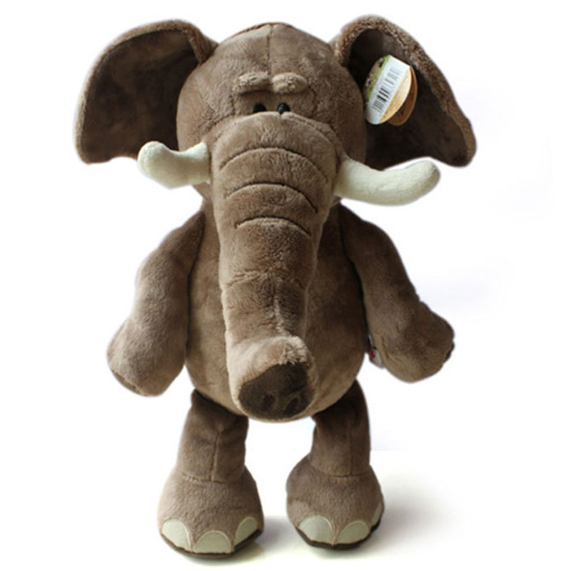 Kids Plush Toys New Arrival Lovely Plush Toy Elephant 35cm High Quality Plush Toys Stuffed Doll Drop Shipping HT443 2pcs 12 30cm plush toy stuffed toy super quality soar goofy