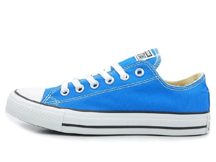 Aliexpress.com  Comprar Original Converse all star hombres y mujeres  zapatillas de lona azul cielo zapatos para hombres mujeres zapatos bajos de  skate envío ... 7c4da000c008