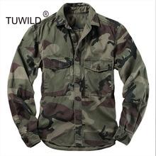Высококачественная горная камуфляжная рубашка мужская униформа куртка с длинным рукавом камуфляжные инструменты для военных альпинизмов куртка