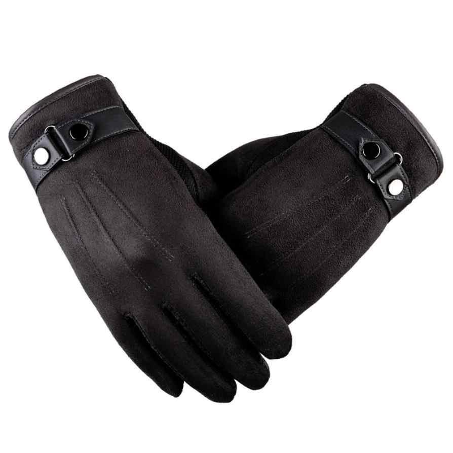 2017 guantes de alta calidad invierno cálido antideslizante hombres cálido motocicleta esquí nieve guantes oc10