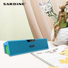 Сардины bluetooth-динамик SDY019 suppoer громкой связи призывает будильник портативный дом динамик лучший звук ящик для автомобиля спальня телефон