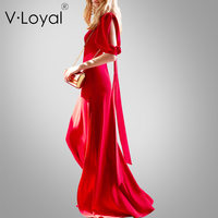 New fashionable silk dress in spring and summer