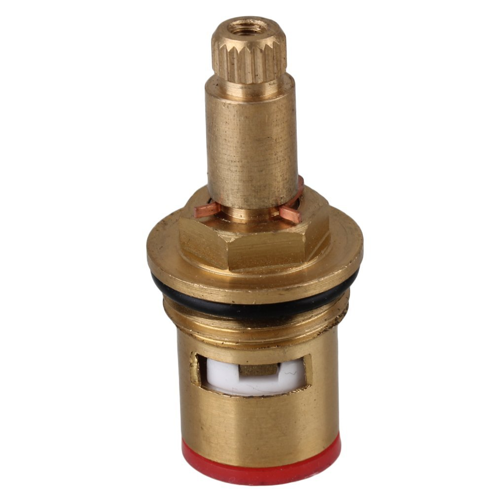 Gold Brass Replacement Faucet Triangle Cartridge Ceramic